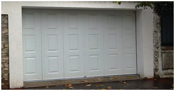 Porte de garage saint maur des foss s et cr teil 94 - Porte de garage sectionnelle laterale ...
