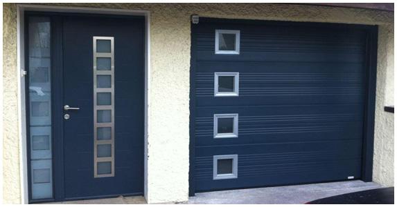 Monter une porte de garage - Monter une porte de garage sectionnelle ...